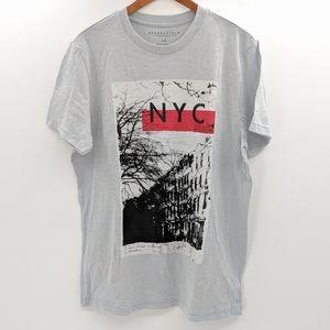 Aeropostale NYC East Village Gray T Shirt